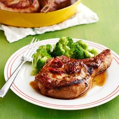 Honey-Chipotle Pork Chops