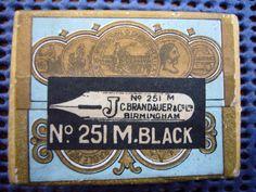 Vintage box of Pen Nibs | eBay