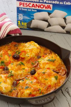 Food C, Diy Food, Good Food, Yummy Food, Easy Cooking, Cooking Recipes, Portuguese Recipes, Food Goals, Fish Dishes
