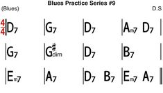 [Blues Practice Series] Blues (Acoustic Blues Style in D key Tempo - Blues Backing Track & Sheet Music Kind Of Blue, Backing Tracks, Guitar Chords, Blue Fashion, Acoustic, Sheet Music, Jazz Blues, Key, Guitars