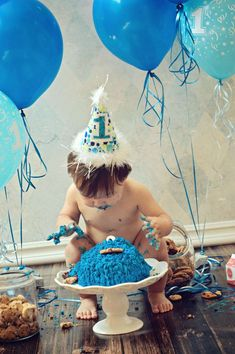 Cookie Monster Birthday Party Ideas | Photo 1 of 34 | Catch My Party