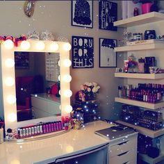 Super cute makeup center