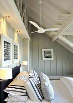Le ventilateur plafond, élément déco indispensable de l'été - 100 Idées Déco