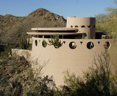 Norman Lykes House. Phoenix, Arizona. Frank Lloyd Wright.