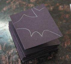 Decoração fácil para o halloween - Correntes de papel