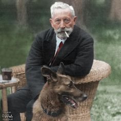 The abdicated Kaiser Wilhelm II aged 81 in 1940 at his home in the Netherlands. Wilhelm Ii, Kaiser Wilhelm, European History, World History, German Royal Family, Royal Photography, German People, Colorized Photos, Austro Hungarian