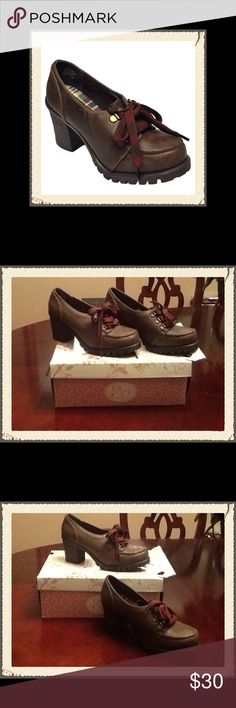 Jellypop Durbin Dark Brown Heels in Size 8.5 These are a Brand New Pair of Jellypop Durbin Dark Brown Heels in a Size 8.5. To keep the cost of shipping low I will ship without the BOX!!! Jellypop Shoes Heels