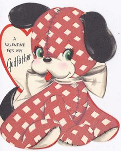 V59 Vintage 50's Unused Hallmark Valentine Greeting by jarysstuff, $4.00