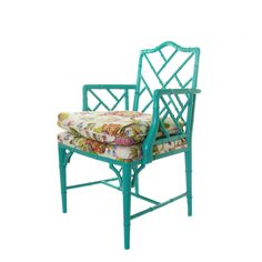 Faux Bamboo Chippendale Chair