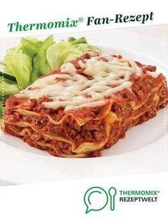 Lasagne von franknaber. Ein Thermomix ® Rezept aus der Kategorie Hauptgerichte mit Fleisch auf www.rezeptwelt.de, der Thermomix ® Community.