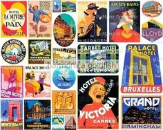 Vintage Travel Tags