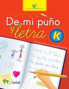 De mi puño y letra K Bullet Journal, Education, Cover, Books, Spanish, Editorial, Letter K, Degree Of A Polynomial, Writing