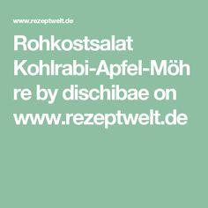 Rohkostsalat Kohlrabi-Apfel-Möhre by dischibae on www.rezeptwelt.de
