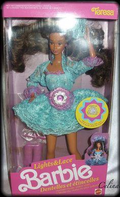 Lights' N Lace Teresa Barbie!