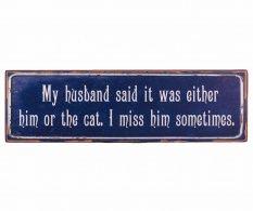 Dekorácia My Husband