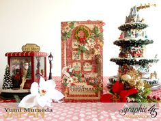 Secret Christmas Box and Party - yuyu3's Paper Arts World