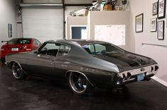 71 72 #BecauseSS chevelle | Chevrolet : Chevelle Chevelle SS 496 grey black
