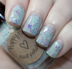 B is for Butterfly - Happy Hands Nail Polish.