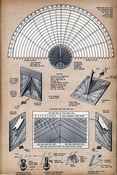a sundial for your garden | Modern Mechanix