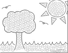 26 FREE Printable Dot Marker Templates Free Coloring Pages