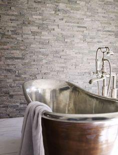 Roane Quartzite Maxi Splitface from Mandarin Stone Stone Tile Flooring, Natural Stone Flooring, Stone Tiles, Tiled Floors, Wall And Floor Tiles, Wall Tiles, Mandarin Stone, Fountain Hills, Bathroom Inspiration