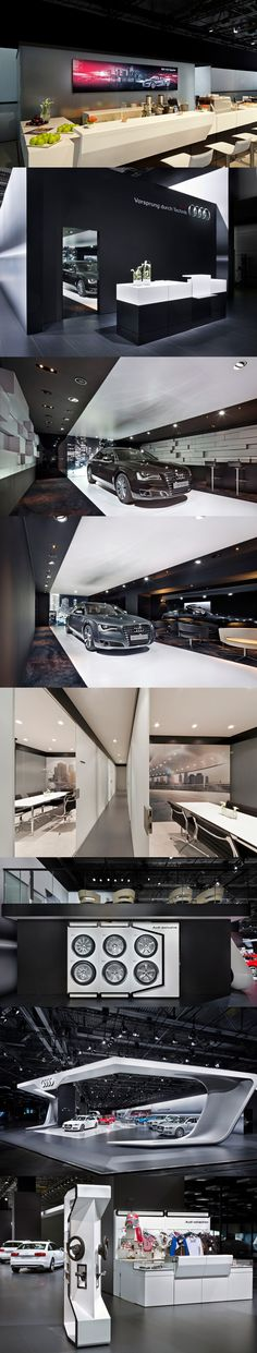 Audi Moscow 2012 by Malte Schweers, via Behance