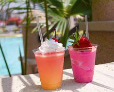 Tropical drinks..