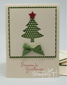 Scentsational Christmas Tree Card