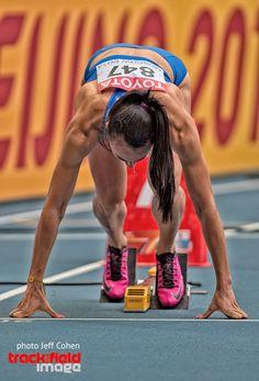 Yelizaveta  Bryzgina , Ukraine. 200 meters. Moscow 2013