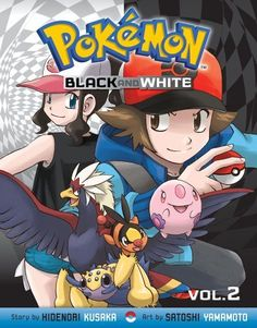 Pokémon Black and White, Vol. 2 - Hidenori Kusaka