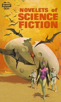 Fragment d'une couverture pour Novelets Of Science Fiction (1963)