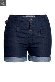 Ladies High Waist Cheeky Short | Shorts / Crops