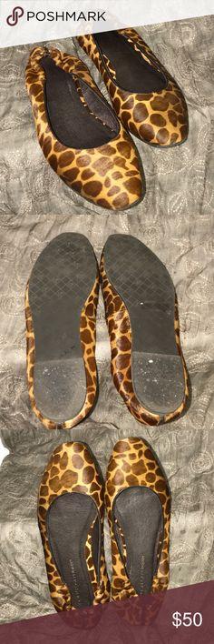 Donald J. Pliner Shoes Donald J. Pliner calve hair flats Donald J. Pliner Shoes Flats & Loafers