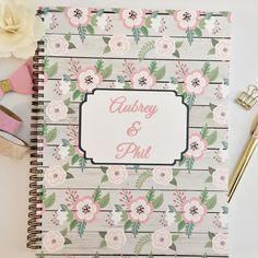 Personalized Wedding Planner, Custom wedding planner, new cover options, bridal planner, wedding planning book