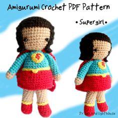 Instant download Amigurumi Crochet PDF Pattern by seaandlighthouse