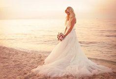 Wedding beach photography
