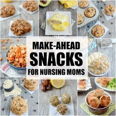 Dairy-Free Lactation Cookies-Dairy-Free Lactation Cookies These Make-Ahead Snacks For Breastfeeding Moms are easy, healthy recipes to help keep your body fueled and energized while nursing. Easy Snacks, Healthy Snacks, Healthy Eating, Healthy Recipes, Kid Snacks, Clean Eating, Food For Breastfeeding Moms, Lactation Recipes, Lactation Foods