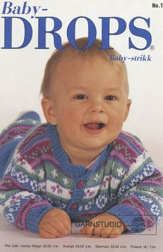 Did you know there are over 200 DROPS catalogues filled with thousands of free knitting patterns and crochet patterns for the whole family? Baby Sweater Knitting Pattern, Baby Knitting Patterns, Baby Patterns, Free Knitting, Crochet Patterns, Sewing Patterns, Drops Design, Drops Karisma, Knitted Baby Outfits
