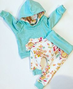 Child girl garments / child girl outfit / floral print by BornApparel.... ** See even more by clicking the image
