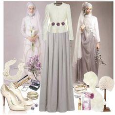 Hijabi wedding inspiration :) #wedding #hijab #Islam #modesty #PerfectMuslimWedding.com