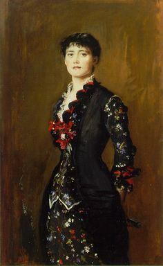 Louise Jopling - John Everett Millais. 1879.
