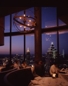 The Sun Dial Restaurant, Bar & View Atlanta, GA ~ The Westin Peachtree Plaza , Atlanta
