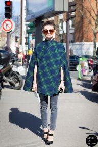 Natalia Alaverdian, Harper's Bazaar Russia fashion director, wearing AWAKE UK outfit. Follow me on Instagram @Style DuMonde, Pinterest, Twitter, TumblrandFacebook