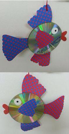 Ψαράκι απο cd