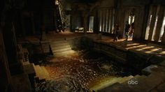 The dark spring inside The Temple from Lost