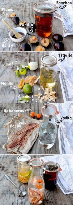 Infused Liquors: Three Ways | www.floatingkitchen.net