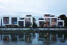 Waterfront Cubes, Behnisch Architekten