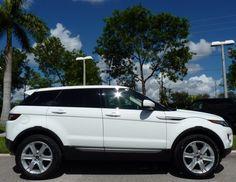 2013 Land Rover Range Rover Evoque, Fuji White,