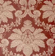 Best Buy! Upscale Designer Traditional Rose Damask Upholstery Drapery Fabric with Embroidered Lampas Look