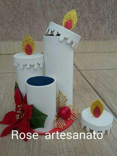 Natal Handmade Christmas Crafts, Diy Christmas Decorations Easy, Diwali Decorations, Christmas Crafts For Kids, Holiday Crafts, Kids Crafts, Holiday Decor, Noel Christmas, Christmas Paper